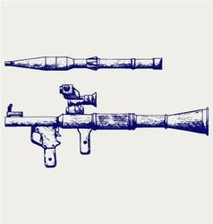 RPG 7 vector image
