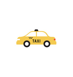 taxi transportation icon design template vector image