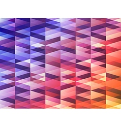 Triangles vector image