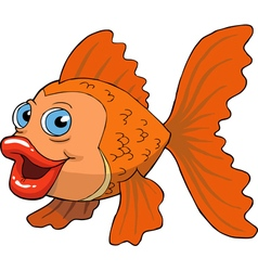 gold fish vector image vector image