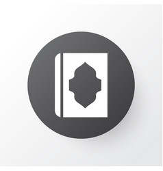 holy book icon symbol premium quality isolated vector image