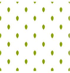Lemon leaf pattern seamless vector