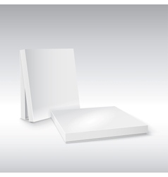 Box on white Ready for your design vector image