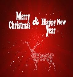 MERY CHRISTMAS vector image
