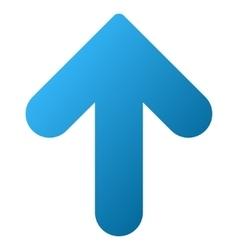 Arrow Up Gradient Icon vector