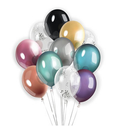 colorfool balloons vector image