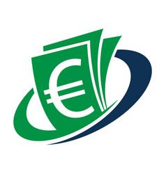 logo for financial management vector image