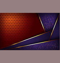 luxurious purple and orange background vector image