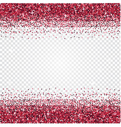 pink glitter abstract background tinsel shiny vector image
