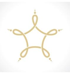 symbol a vector image