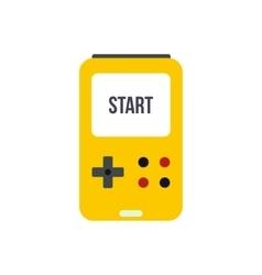 Tetris icon flat vector