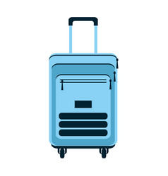 travel backpack tourism equipment style vector image