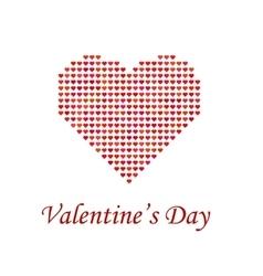 Valentines Day Romantic Banner vector