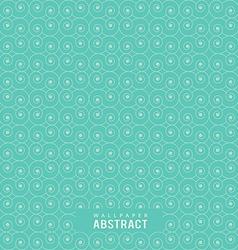 Wallpaper abstract circle line seamless pattern vector