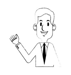 young businessman icon image vector image