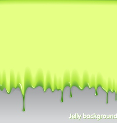 jelly background vector image
