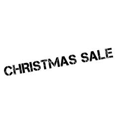 Christmas Sale rubber stamp vector