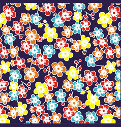 Colorful flower vector