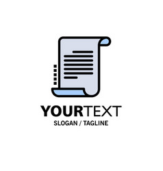 Decree novel scenario screenplay business logo vector