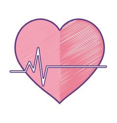 Frequency vital cardiac rhythm heartbeat vector