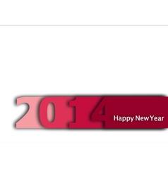 Happy-New-Year-2014 vector image vector image