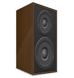 Acoustic loudspeaker 02 vector