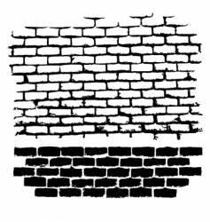 ugly brick vector image
