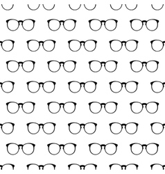 Eyeglasses pattern seamless vector
