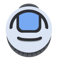 flat monowheel balance vehicle icon vector image