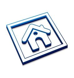 home web icon vector image
