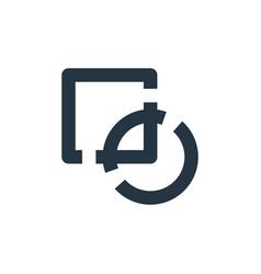 Intersect icon intersect editable stroke vector