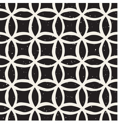 monochrome minimalistic seamless pattern with vector image