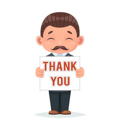 movember thank you moustache november support vector image