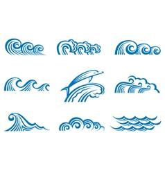 Set of waves vector