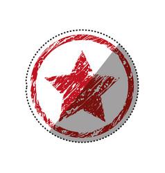 star medal symbol vector image