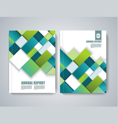 brochure title sheet polygonal construction vector image vector image