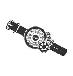 Steampunk mechanism vector