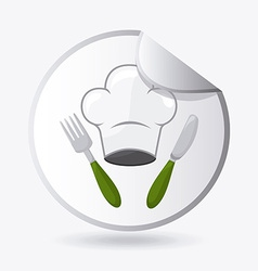 cooking design vector image