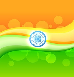 Creative indian flag vector