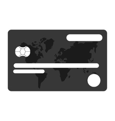 credit or debit card icon vector image