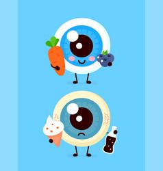 cute healthy happy uterus organ vector image