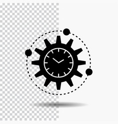 efficiency management processing productivity vector image