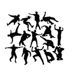 Modern dancing vector