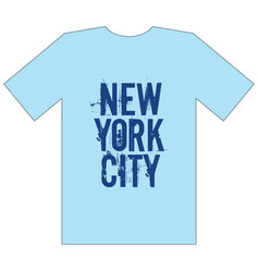 new york city stylish apparel trendy design vector image