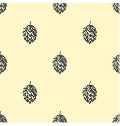 hop beer seamless pattern background vector image