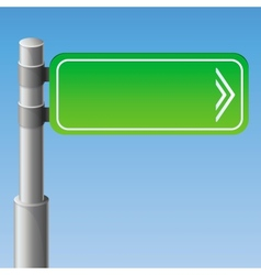 street road sign vector image vector image