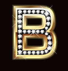 b bling vector image
