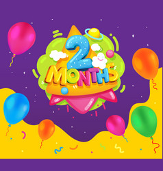 2 month vector