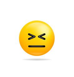 emoji smile icon symbol smiley face yellow vector image