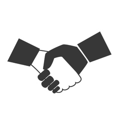 Handshake business deal vector
